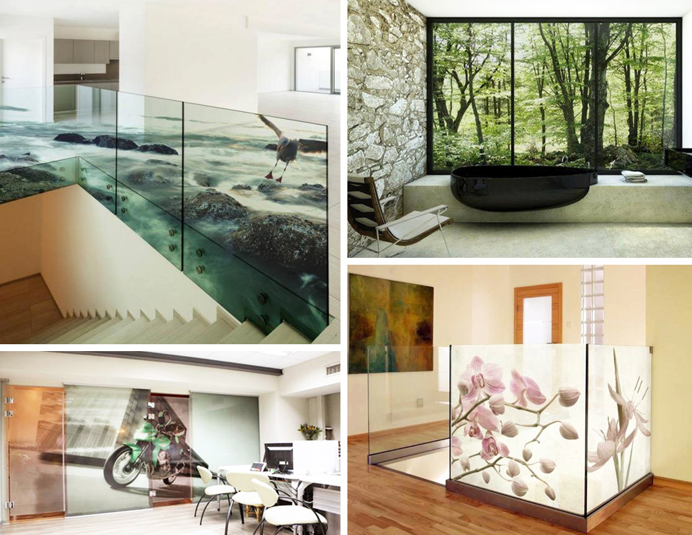 Moderne Glasbilder