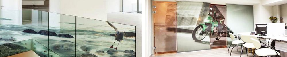 Bedruckte Glasbilder von zafrane München