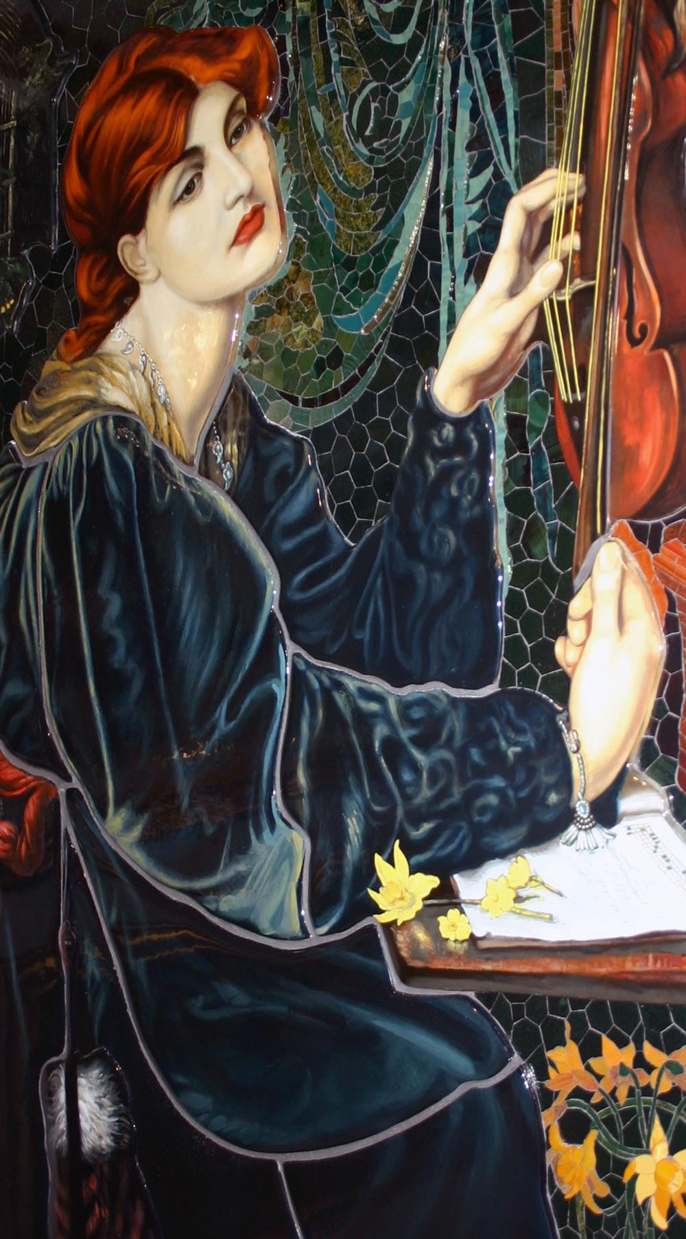 Rossetti Mosaik der Veronica Veronese