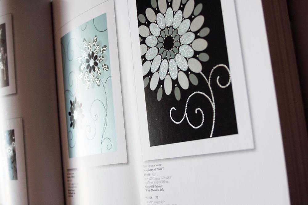 Katalog Silberpraegung und Blumenmotiven