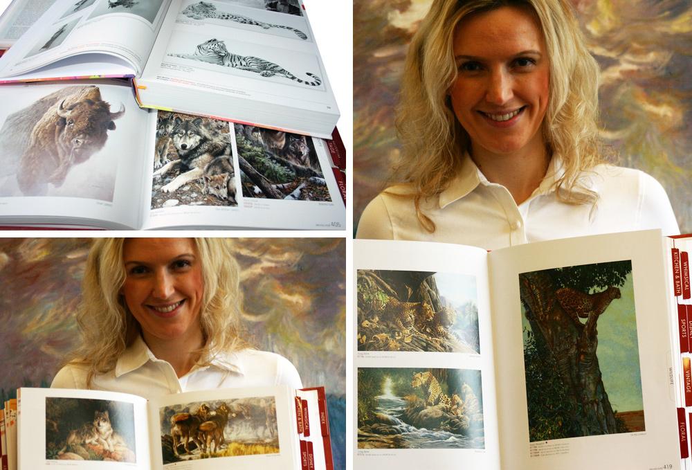 Kataloge mit Wildtieren
