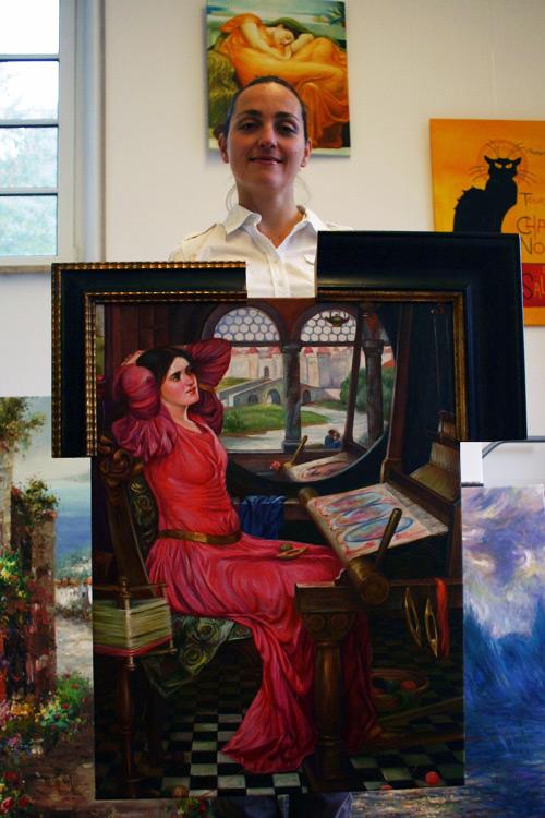 Klassisches viktorianisches Gemälde kaufen