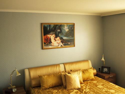 Kunde kaufte Gemäldekopie nach Francesco Hayez für sein Schlafzimmer