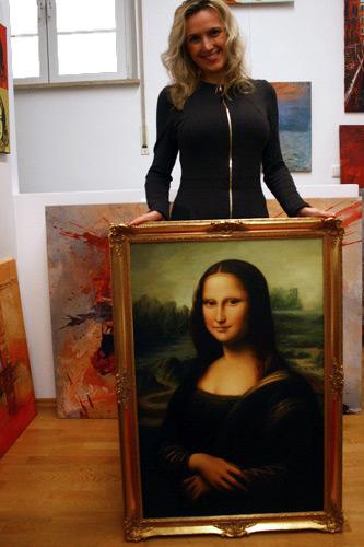 Mona Lisa klassische Gemäldekopie