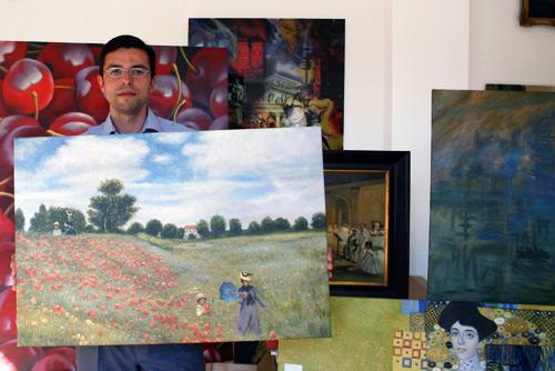Impressionismus Monet Gemäldekopie