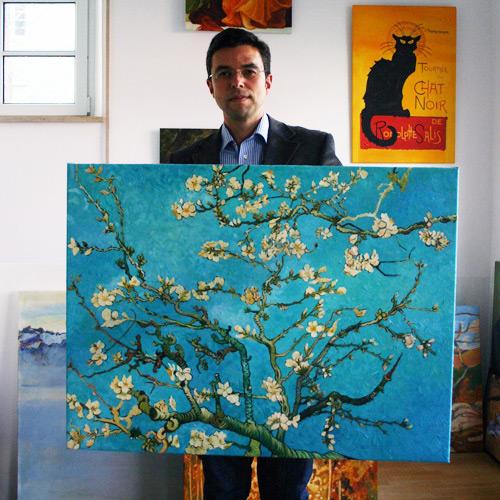 Impressionismus van Gogh Mandelzweig