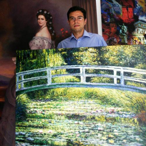 Impressionismus Monet Wasserlilien II