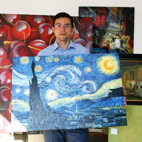 Impressionismus Gemäldekopie