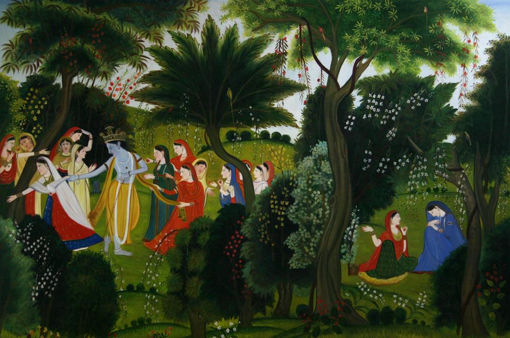 Indische Gemälde kaufen
