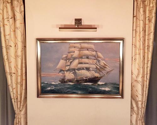 Marinemalerei nach Kaufmann