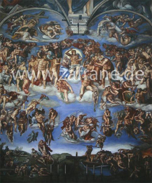 Religiöse Gemäldekopie nach Poussin