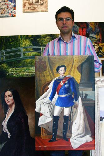 Gemälde König Ludwig kaufen