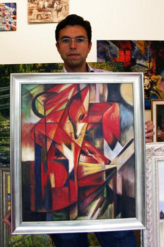 Cezanne Gemäldekopie kaufen