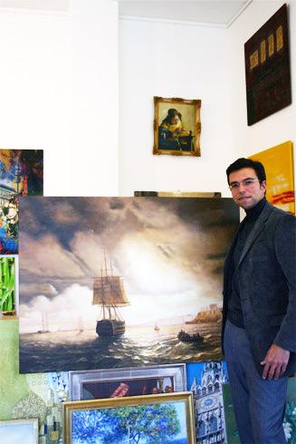 Bei zafrane München klassische Bilder Aivazovsky kaufen