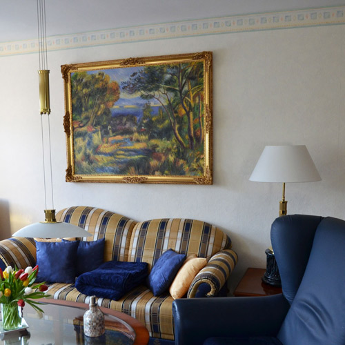 Landschaftsgemälde Impressionismus Monet