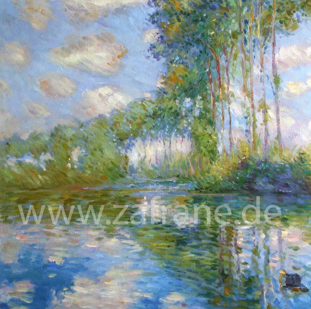 Impressionismus Malerei van Gogh Mandelblüte