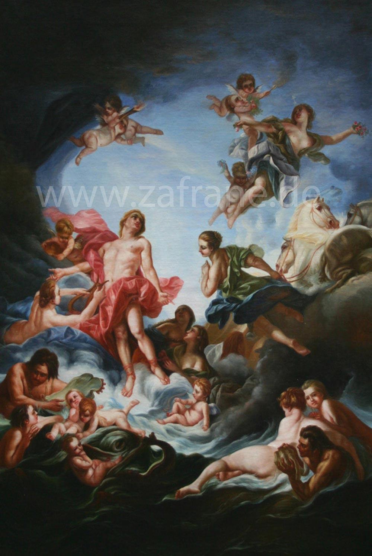 Klassische Bilder mit Engeln