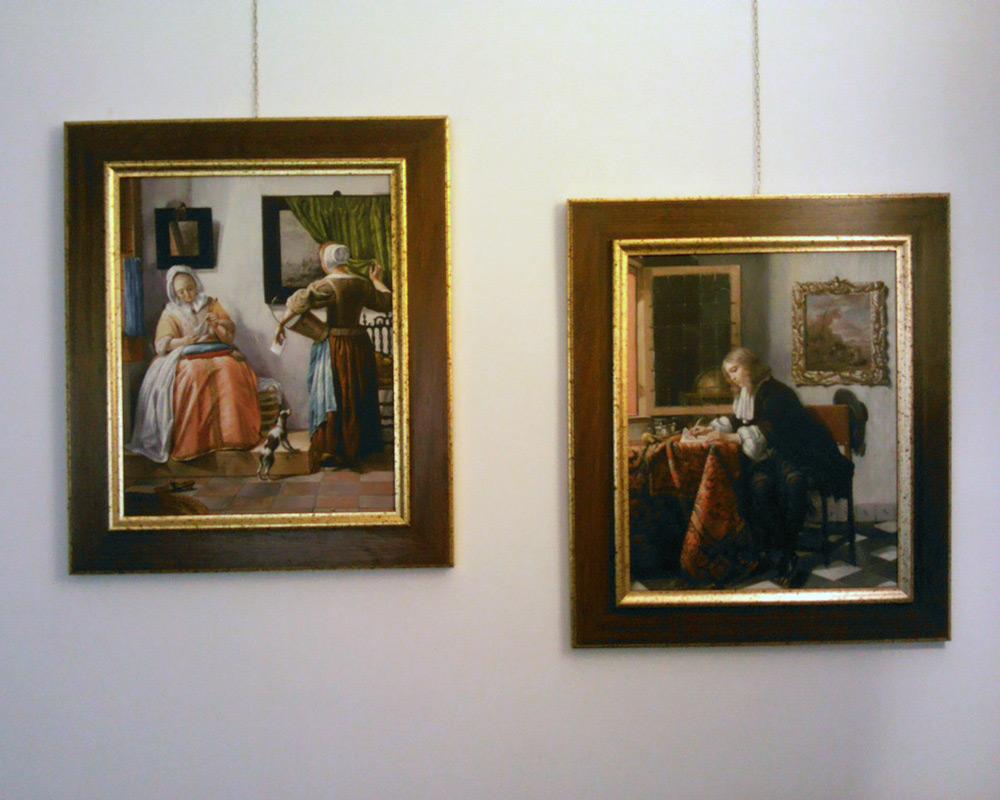 Gemäldekopien nach Gabriel Metsu kaufen