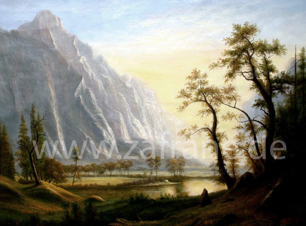 Landschaftsbilder Landschaftsgemälde Berglandschaft