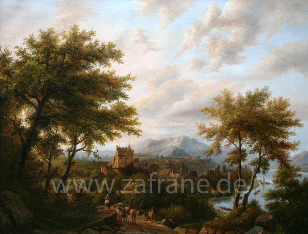 Landschaftsbilder Landschaftsgemälde Willem Koekkoek