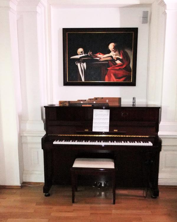Caravaggio Gemälde, Der Heilige Hieronymus, auch bekannt als Der Heilige Gerome